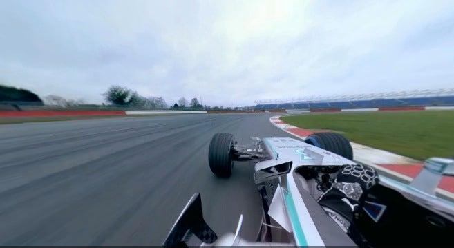 An F1 Run Captured in Insane 360-Degree Interactive Video