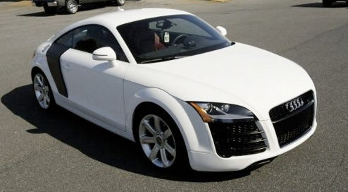 new baby audi r8 based on tt not quite. Black Bedroom Furniture Sets. Home Design Ideas