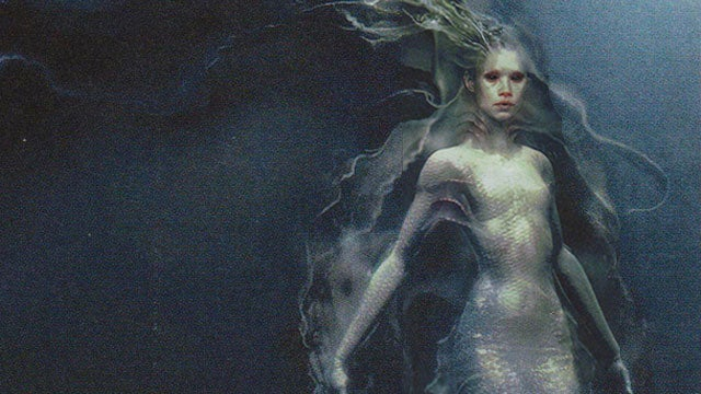 Gorgeous concept art of Pirates of the Caribbean 4's sultry mermaids