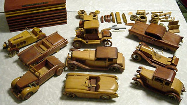 You Can Buy A Junkyard Of Wooden Cars On eBay