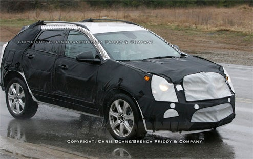 2010 Cadillac BRX Caught In Wet T-Shirt Contest