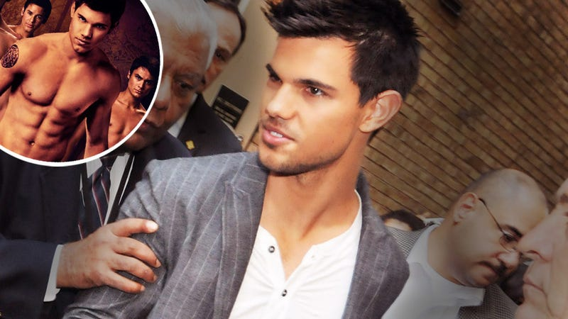 Food-Refusing Taylor Lautner Must Be Forced to Eat