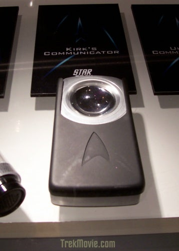 Check Out Kirk's Communicator, Uhura's Earpiece And McCoy's Scanner
