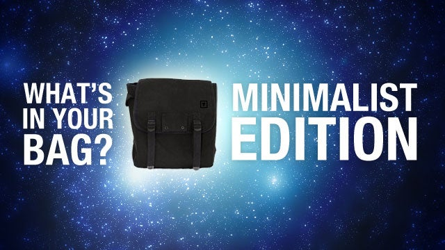 What's in Your Bag: Minimalist Edition