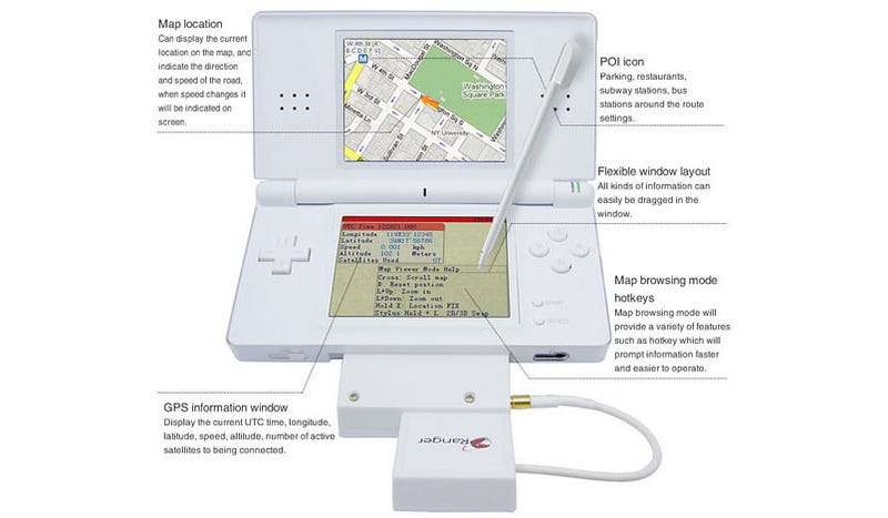 GPS For Your DS Lite