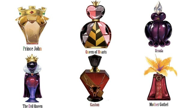 Disney Villain Perfume Line is
