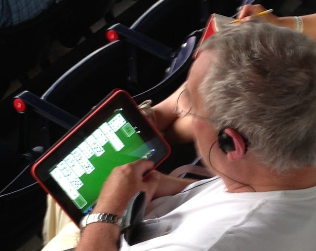 Bored Baseball Fans Find Solitaire Less Boring Than Baseball