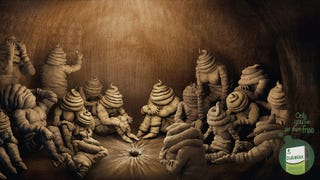 New Laxative Ad Features Swirly Poop People Trapped in a Butt Dungeon