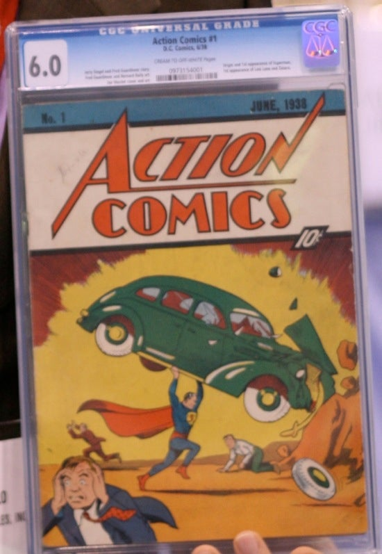 1.) Action Comics #1