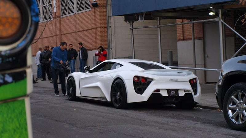 The $1.8 million Zenvo ST1 has arrived in NYC