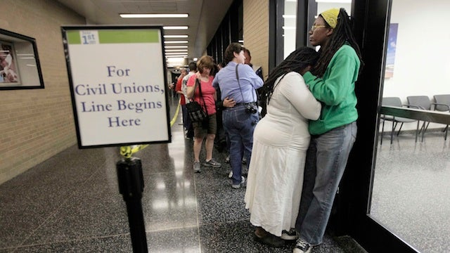 Are Civil Unions For All The Wave Of The Future?