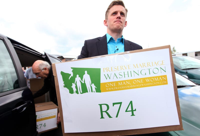 Washington State's Conservatives Try to Pass Two Separate Anti-Gay Marriage Initiatives, Fail