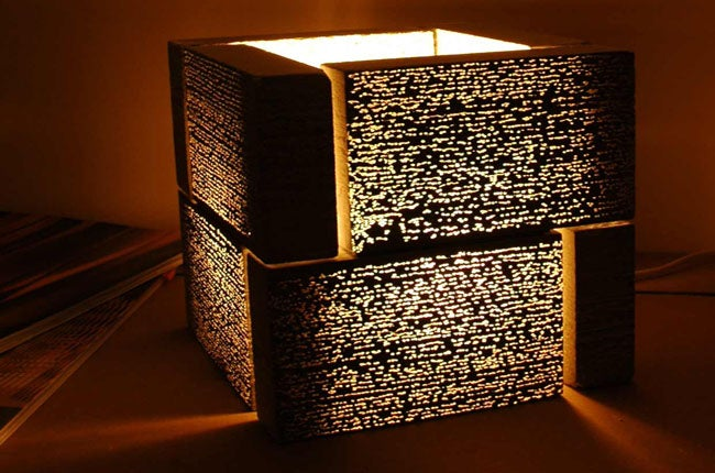 Reinforce your Bedside Table, Here Comes the Litracube Lamp