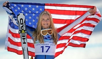 Lindsey Vonn Named Female Athlete Of The Year