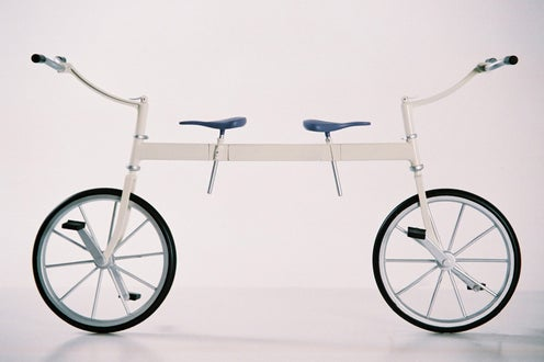 Bi-Cycle Tandem Bike is Perfect for the Couple That's Going Nowhere
