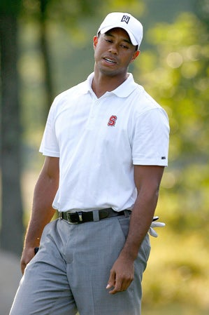 A Side-By-Side Examination Of Tiger's Golf Performance And His Concurrent Sexting