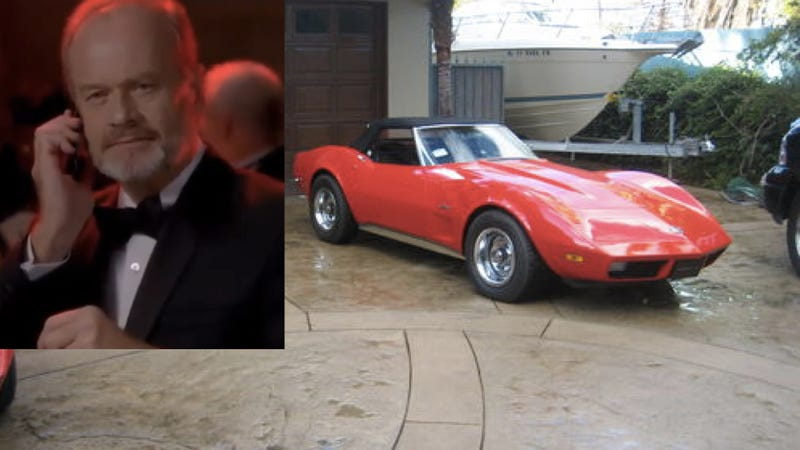 Turns Out Frasier Crane Drives This Badass Corvette