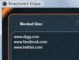 BinarySwitch Eclipse Blocks Access to Distracting Web Sites