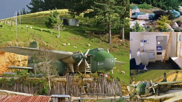Awe Inspiring Homes And Buildings Made Out Of Old Airplanes