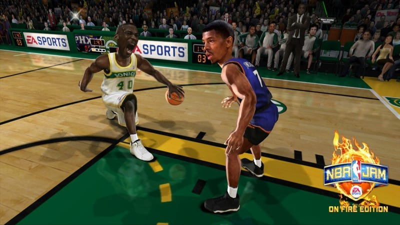 It Takes Two to Make NBA Jam Go Right