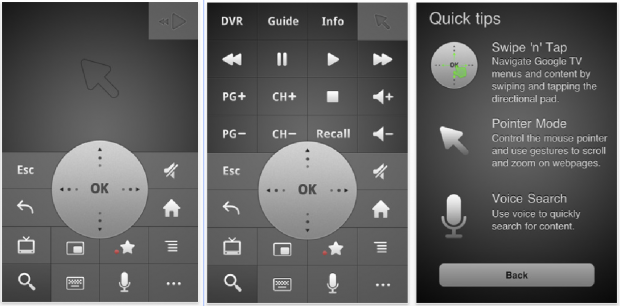 Google TV Remote for iOS Here at Long Last