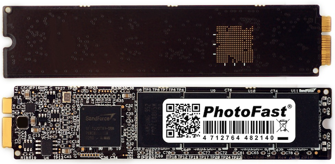 Apple Shuts Down PhotoFast's MacBook Air 256GB SSD Upgrade Kit Production