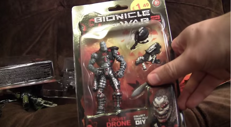 "Counterfeit Gears Of War Toy Line Called ""Bionicle Of War 2"""