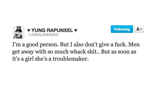 Azealia Banks Isn't a Troublemaker, But That Doesn't Mean She Gives a Fuck