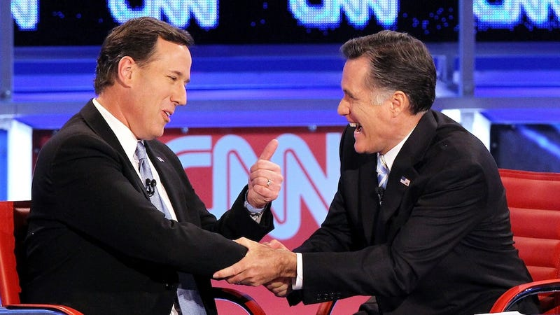Santorum & Romney Choose Totally Penis-y Secret Service Names