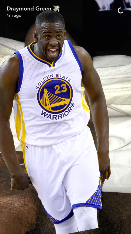 NBA Star Draymond Green Sends Out Dick Pic On Snapchat, Apologizes [NSFW]