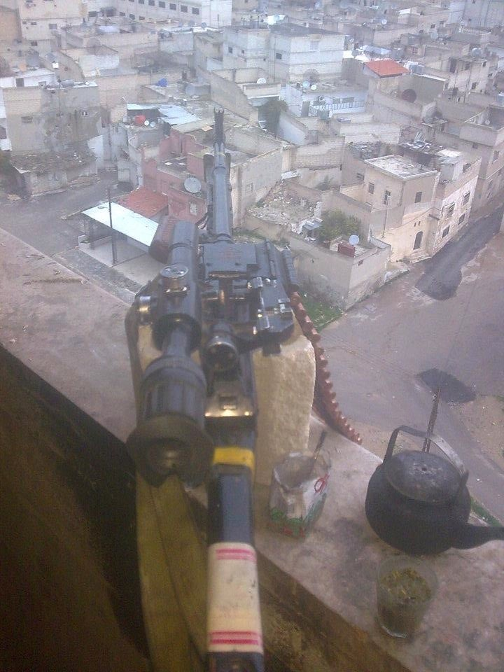 Syrian Rebel Posts Sniper's Camera Phone Photos