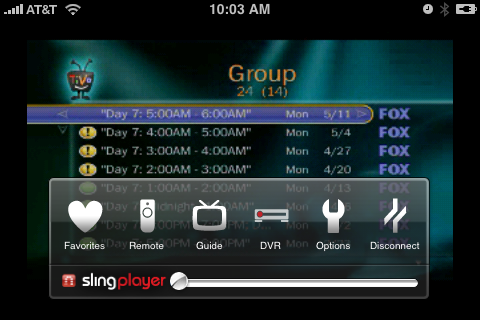 SlingPlayer Mobile For iPhone Review (Wi-Fi Only, $30)
