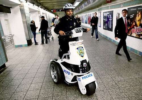 T3 Scooters and the Cops Who Love Them