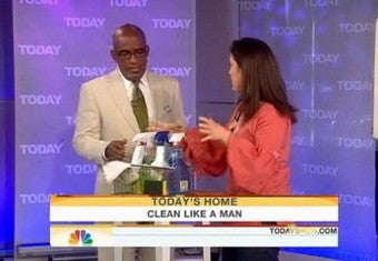 """Cleaning Like A Man"" Involves Blowing, Balls"