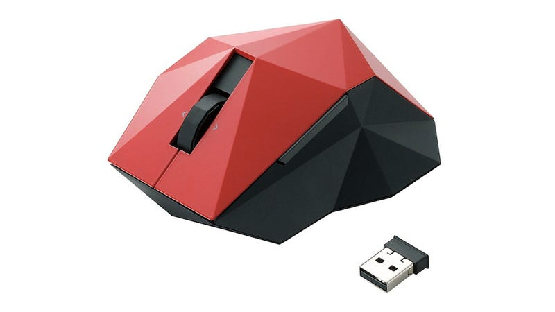 Elecom's Origami-Inspired Mouse Can't Possibly Be Comfortable to Use
