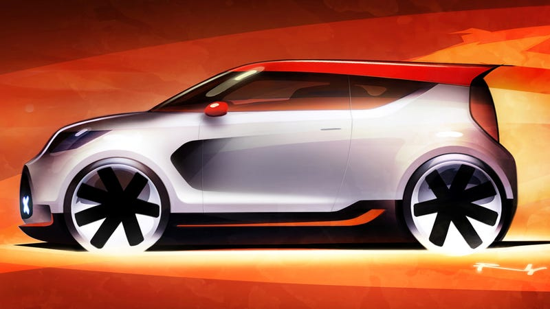 Kia Track'ster Concept: A Small Car With Soul
