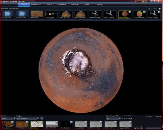 See Mars Better Than An Astronaut With Microsoft's Interactive Maps