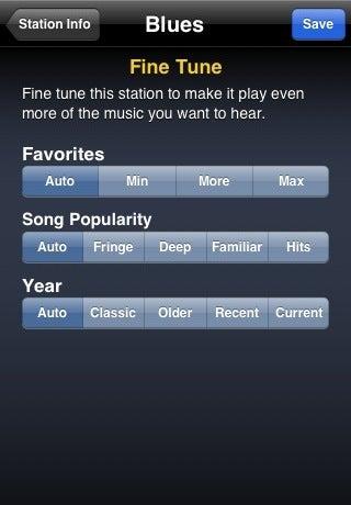 Slacker Radio Puts Customizable Streaming Tunes on iPhones