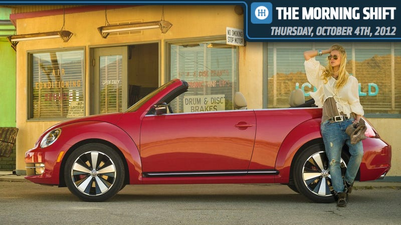 VW Shows 2013 Beetle Convertible, Mercedes B-Class Is Finally Coming, And GM's Turbo Is Born From Jets