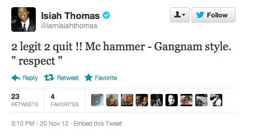 Isiah Thomas Has Lost What's Left Of His Mind