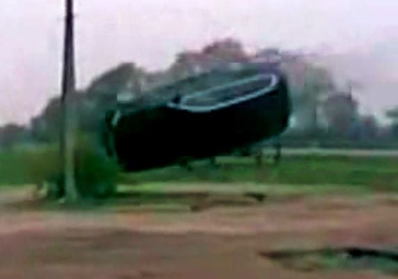 VIDEO: BMW X5 Flipped In FAILtacular Fashion