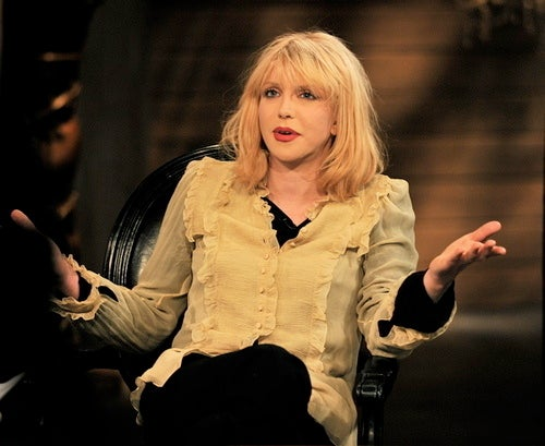 Courtney Love And Kurt Cobain Burned Marc Jacobs' Grunge Pieces