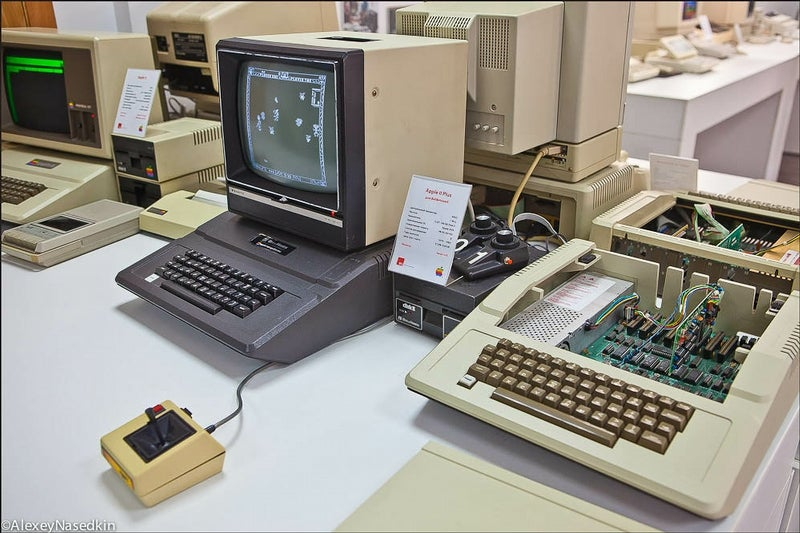 This Collection of Old Apple Hardware Is Heroic