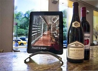 Fear This iPad Wine List