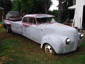 I went in search of a crew cab Studebaker...