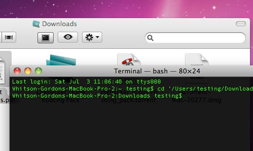 OpenTerminal Automatically Changes the Terminal Directory to the Current Finder Folder in OS X