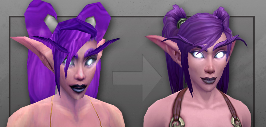 A Look At World Of Warcraft's New Night Elf Model
