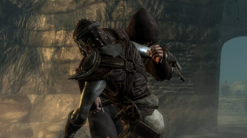 These New Shots From Skyrim Are No Laughing Matter