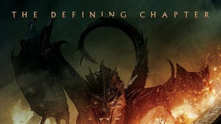 Smaug Is So Pissed On The First <em>Hobbit: Battle Of Five Armies</em> Poster