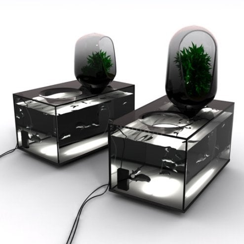Alien Pod Ecosystem for your Home
